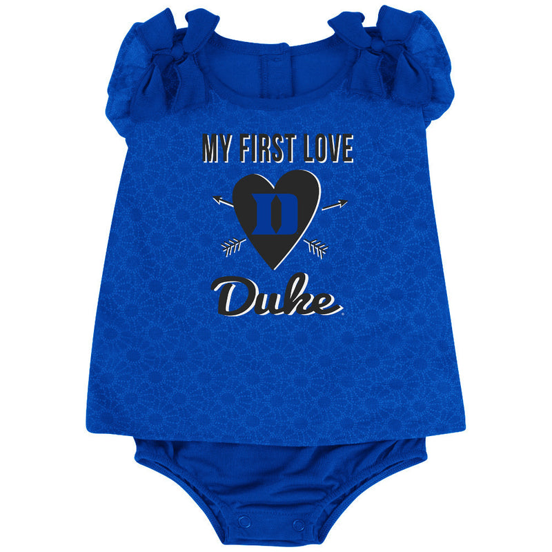 Blue Devils Baby Girl My First Love Outfit