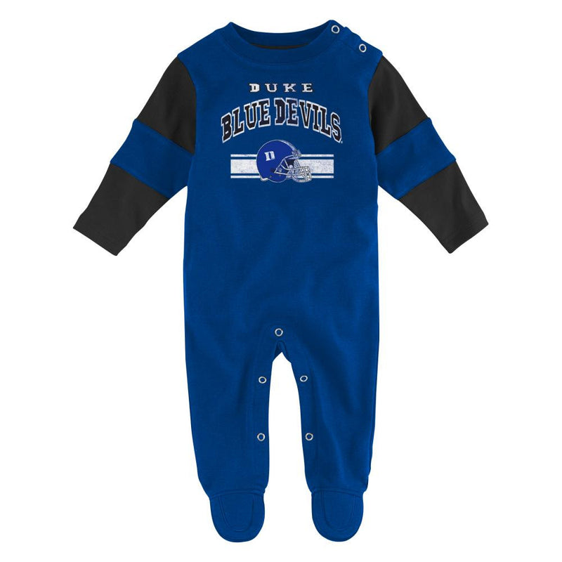 Baby Blue Devil Vintage Look Sleep & Play