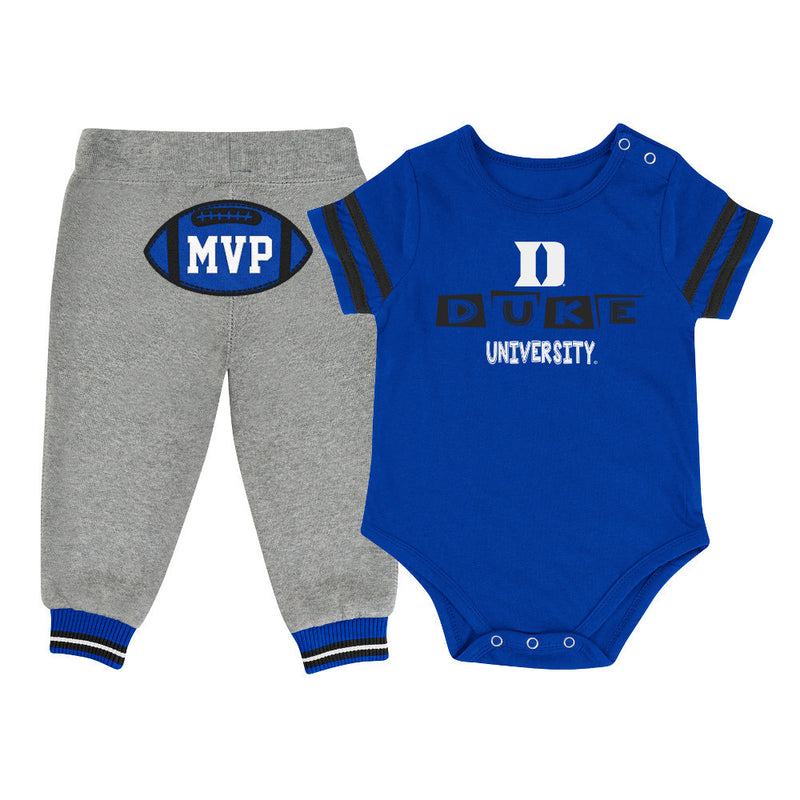 Blue Devils Baby MVP Outfit