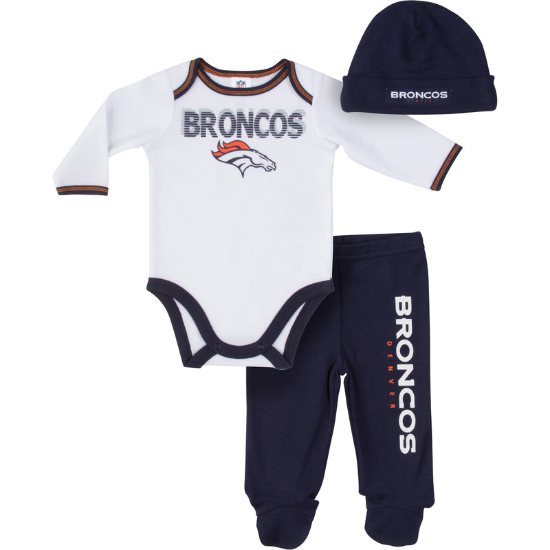 Broncos Baby Boy Outfit