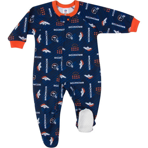 Broncos Baby Boy Blanket Sleeper
