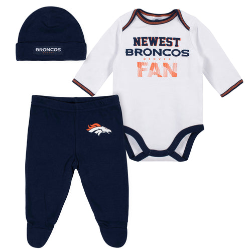 official photos b8fb5 68481 NFL Infant Clothing | Denver Broncos Baby Clothes - BabyFans ...