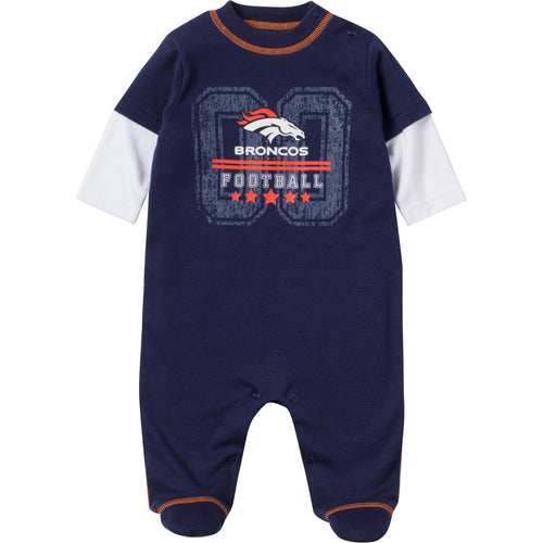 Baby Broncos Fan Sleep & Play