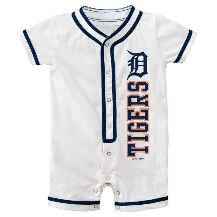 Detroit Tigers Infant Short Sleeve Coverall