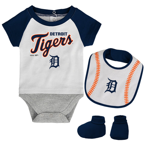 Detroit Tigers Baby Outfit