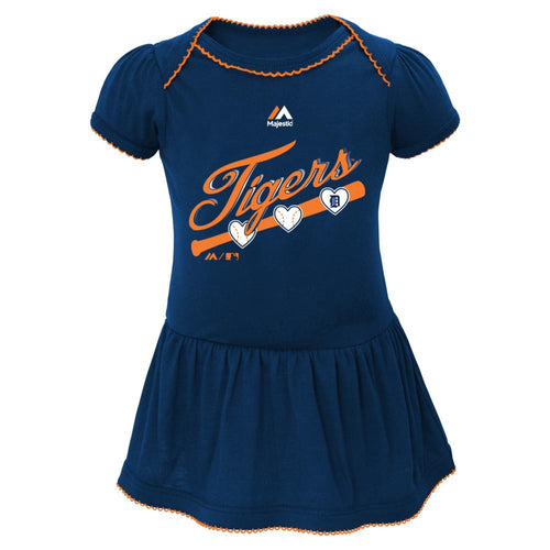 Tigers Triple Play Baby Dress