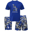 Dodgers Camo Shirt and Shorts