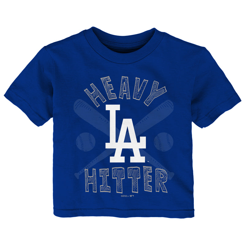 Dodgers Heavy Hitter Short Sleeve T-Shirt