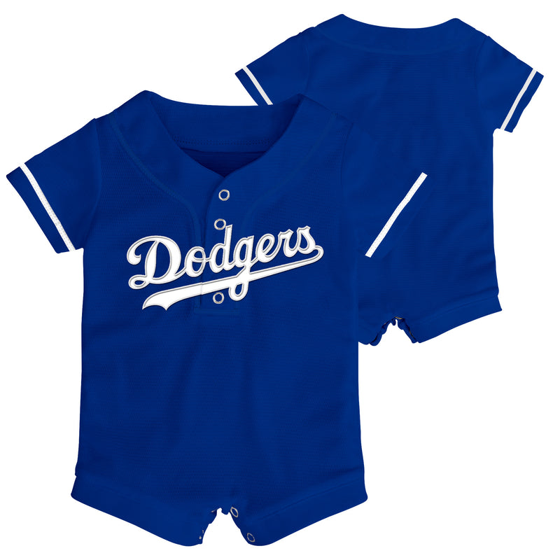 Authentic Dodgers Infant Jersey Romper