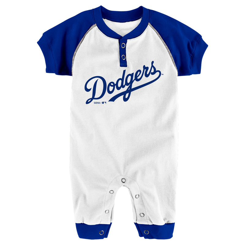 Dodgers Baby Team Coverall