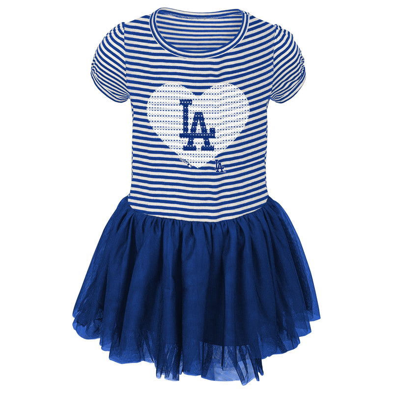 Dodgers Infant/Toddler Girls Sequin Tutu Dress