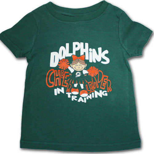 Dolphins Infant Cheerleader in Training Tee