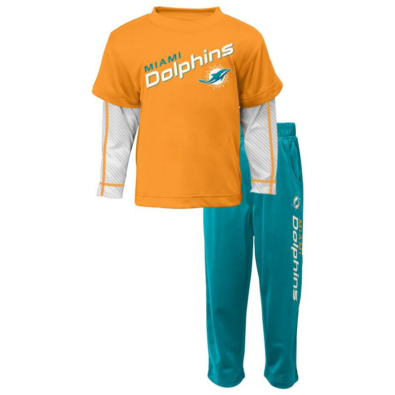 Dolphins Baby Playtime Pant Set