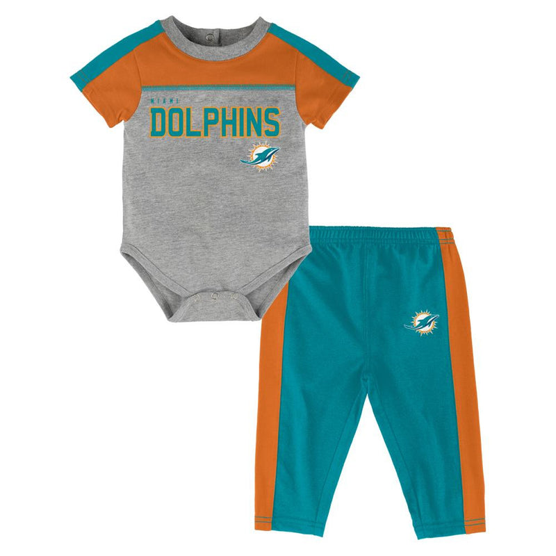Dolphins Fan Playtime Creeper & Pants Outfit