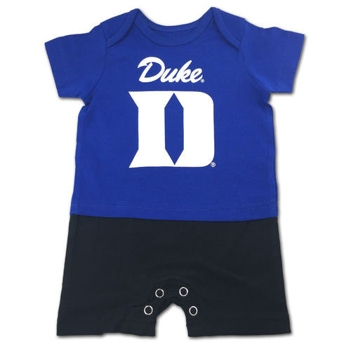 Blue Devil Spirit Infant Romper
