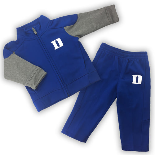 Duke Infant Gridiron Jacket and Pants Set