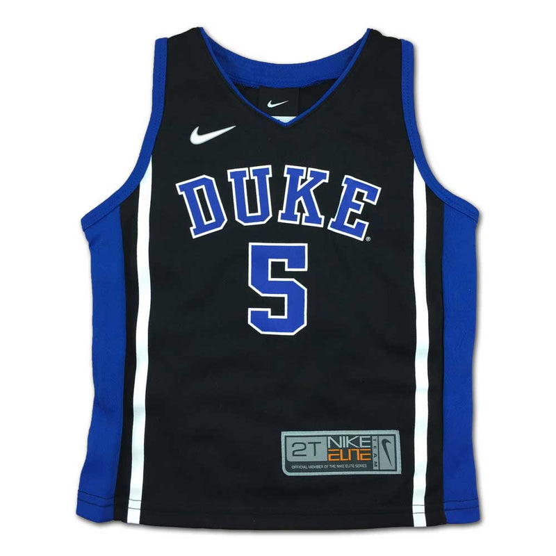 Duke Nike Elite Toddler Jersey #5