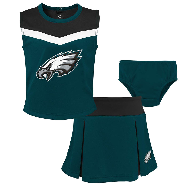 Eagles Girl 3 Piece Cheerleader Set
