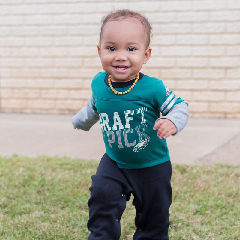 Eagles Boy Long Sleeve Coverall