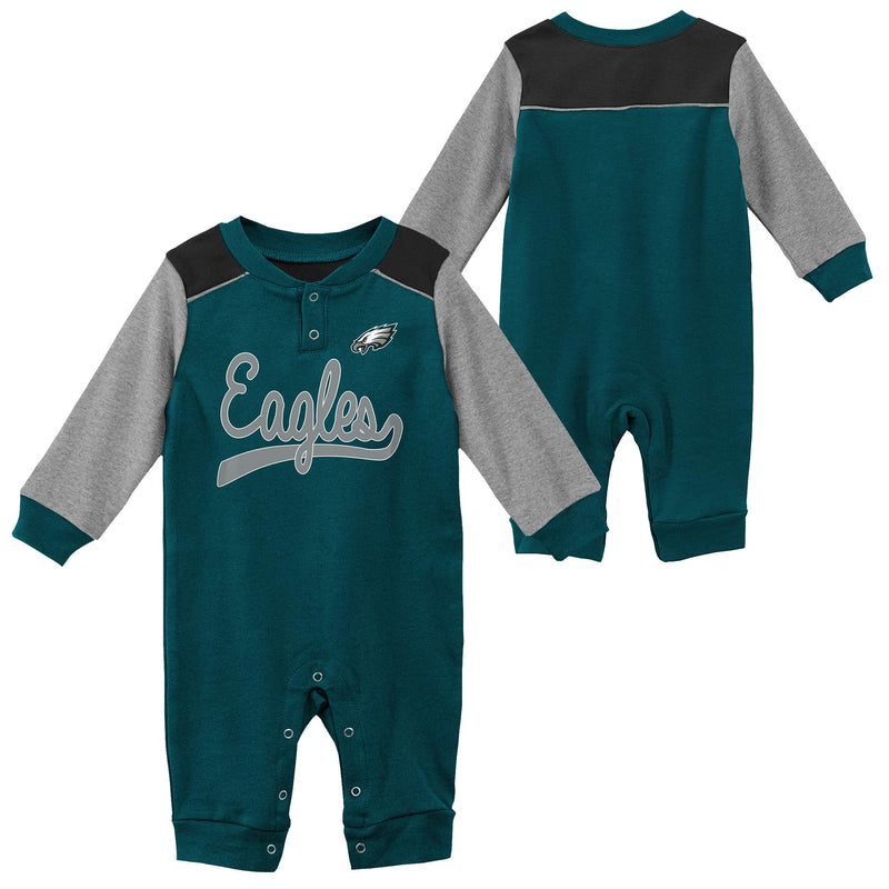 Eagles Game Time Long Sleeve Coverall