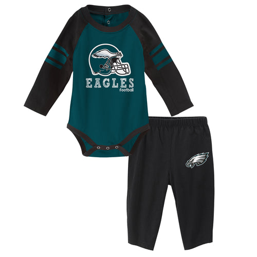 Eagles Long Sleeve Bodysuit and Pants Outfit