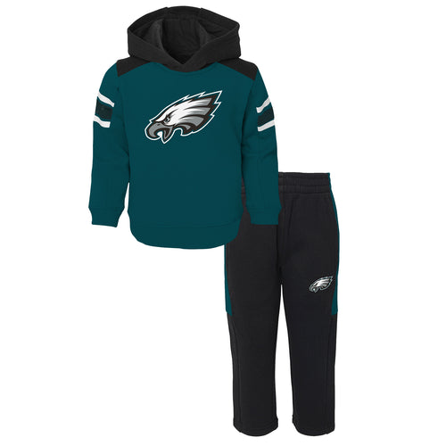 Eagles Infant Hooded Fleece Lined Set