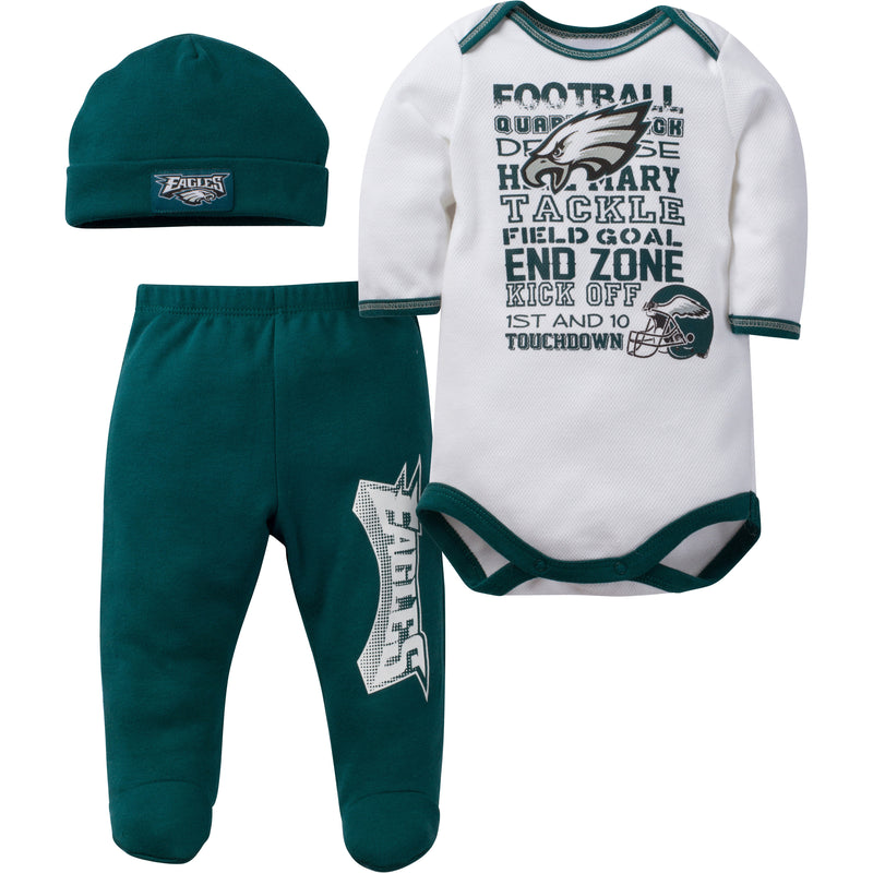 Eagles Baby 3 Piece Outfit