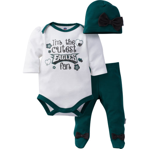 Cutest Eagles Girl Set