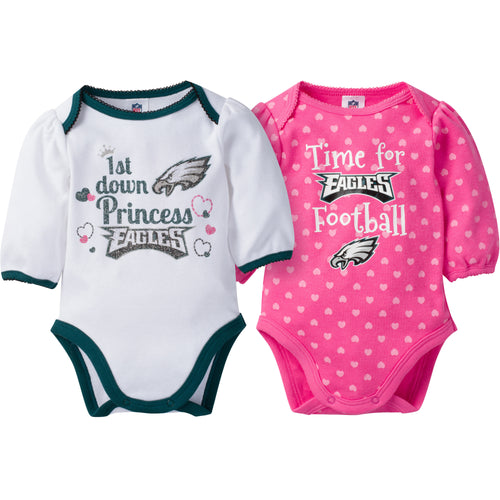 Eagles Baby Princess Bodysuit Set