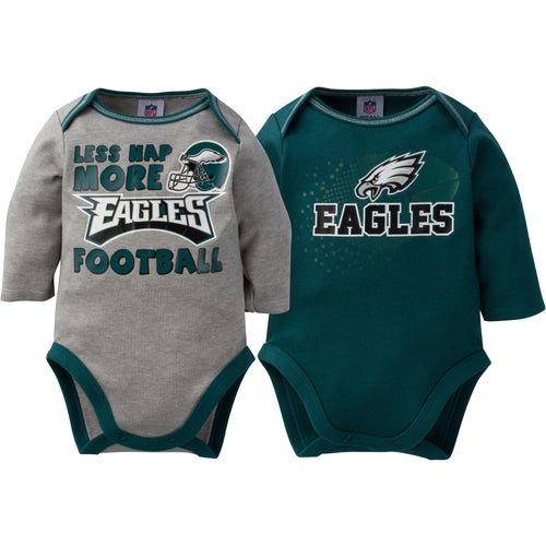 Baby Eagles Long Sleeve Onesie Two Pack