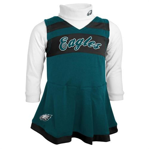 Infant Philadelphia Eagles Cheerleader Outfit – babyfans 0358421f5