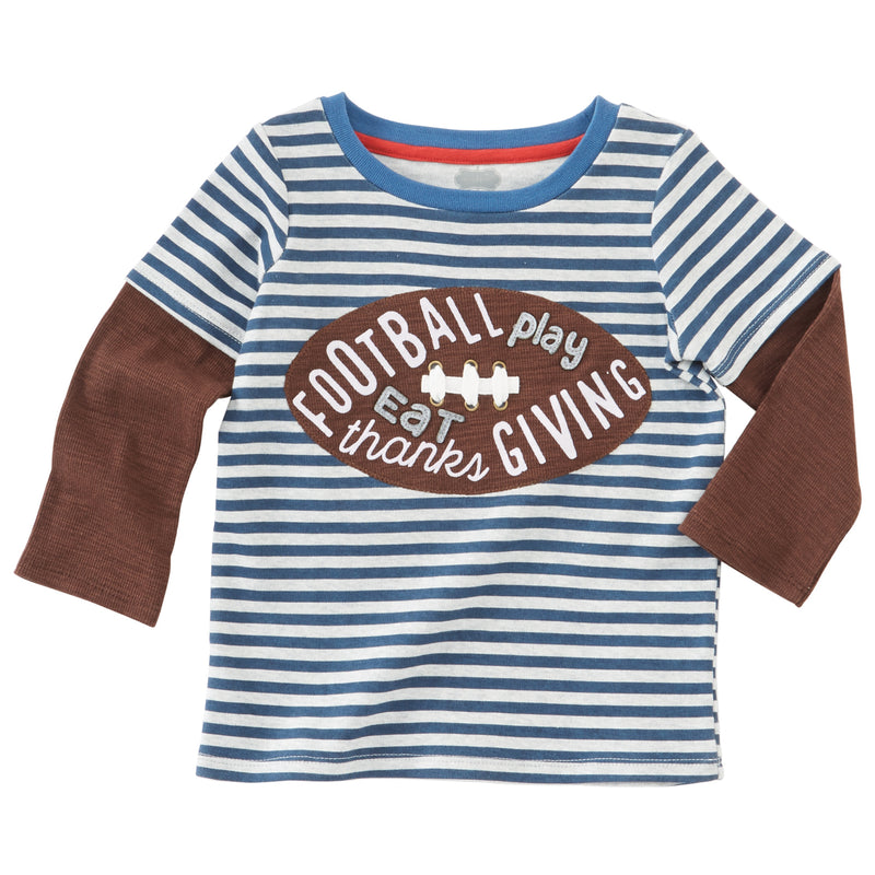Football Play Eat Thanks Giving Shirt