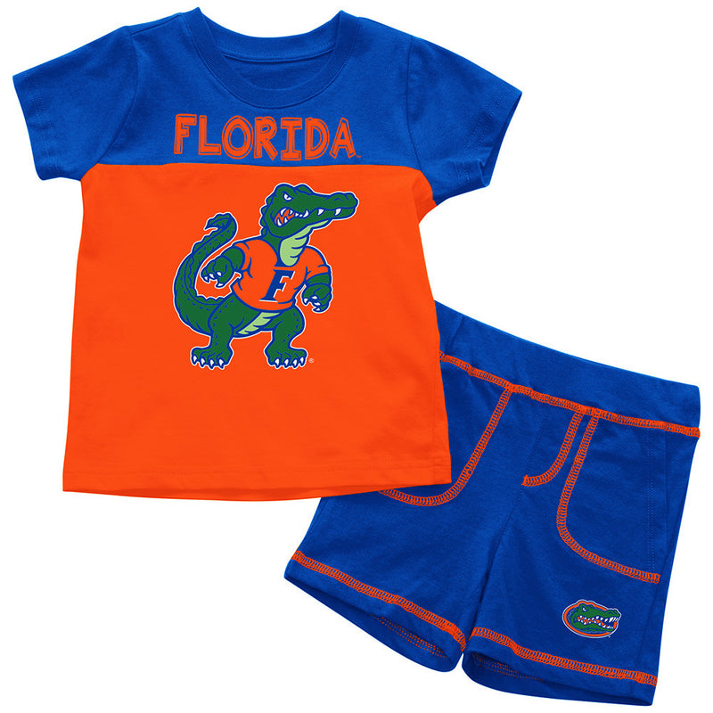 Gators Infant Mascot Shorts and Tee Set