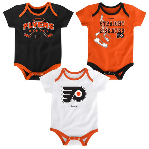 Flyers Infant 3 Piece Bodysuit Set