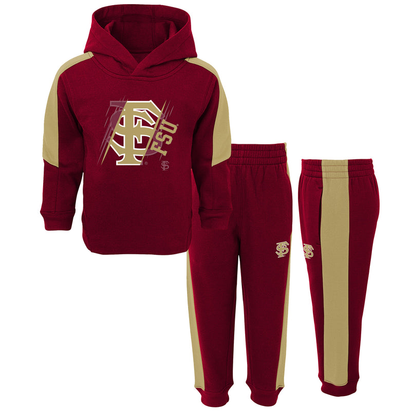 FSU Hooded Fleece Set
