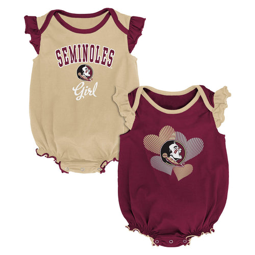 FSU Ruffled Bodysuit Set