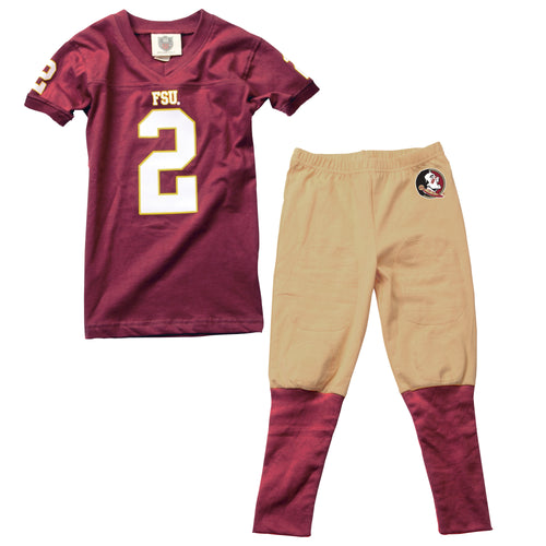 Florida State Toddler Football PJ Set