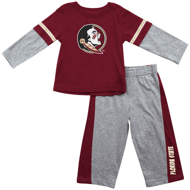 Florida State Infant Long Sleeve Tee and Pants