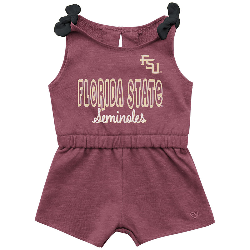 Florida State Baby Girl Romper