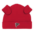 Falcons Baby Bodysuit, Pants and Cap Set