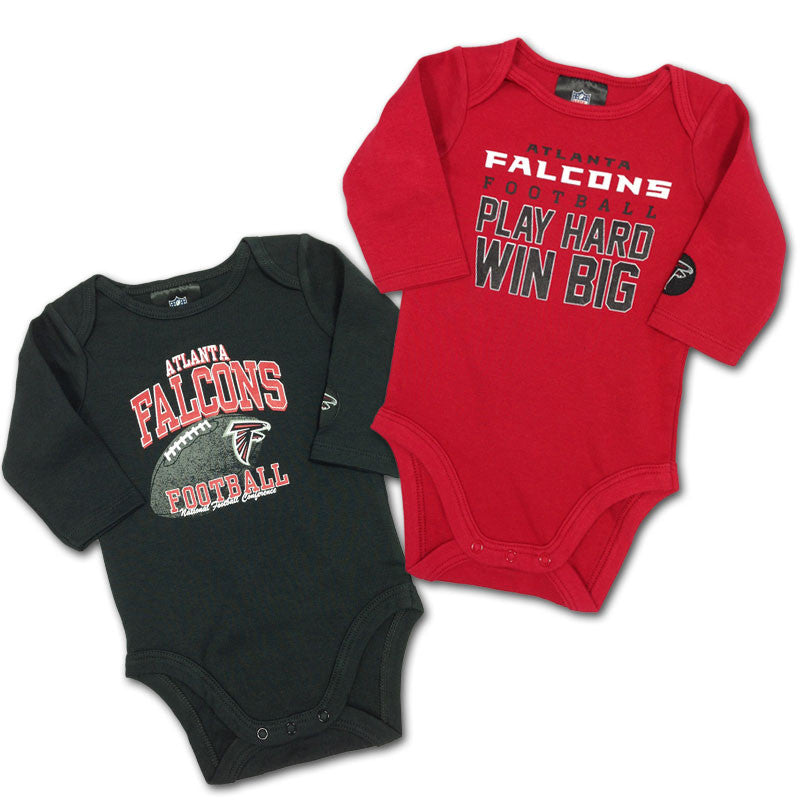 "Falcons Baby ""Win Big"" Bodysuit 2-Pack"