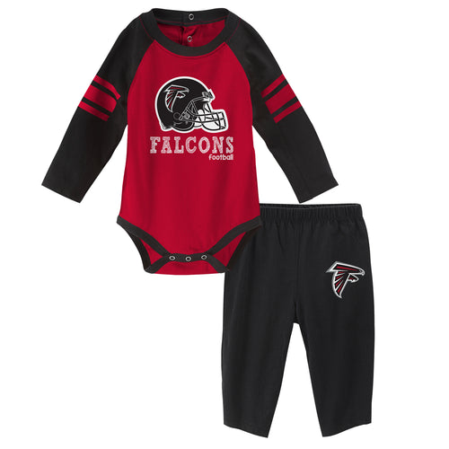 Falcons Long Sleeve Bodysuit and Pants Outfit