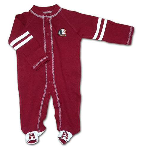 Florida State Sports Shoe Baby Sleeper