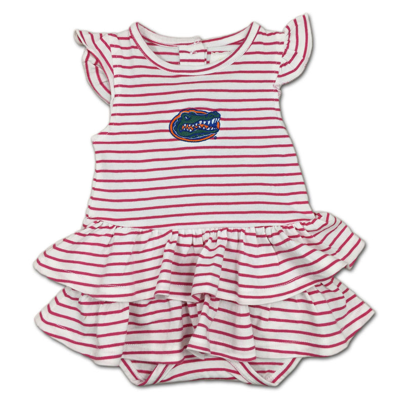 Florida Stripes 'n Ruffles Skirted Romper