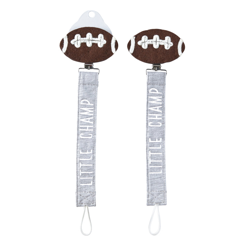 Little Champ Football Paci Clip