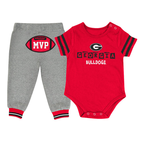 Bulldogs Baby MVP Outfit