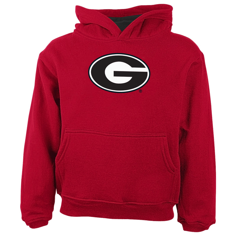 Georgia Hooded Fleece Sweatshirt