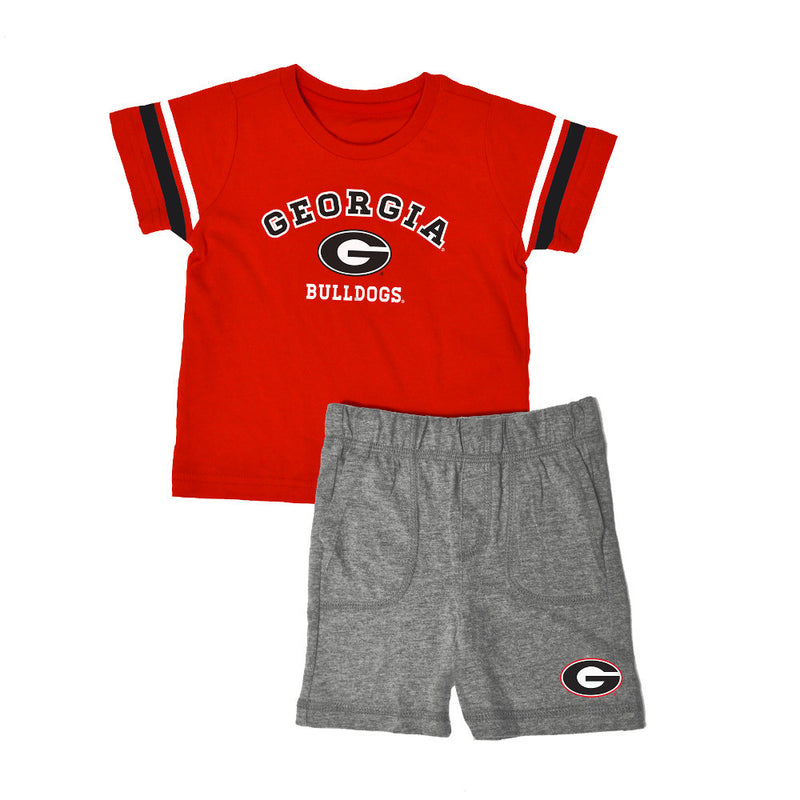 Georgia Knit Tee Shirt and Shorts