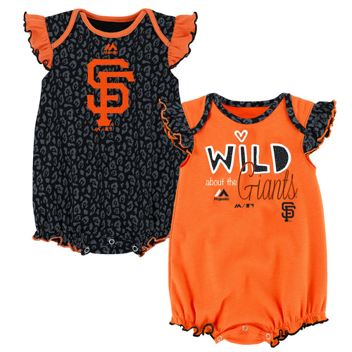 Wild About the Giants Onesie Duo