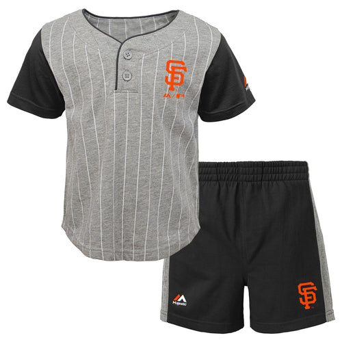 Giants Bat Boy Short Set
